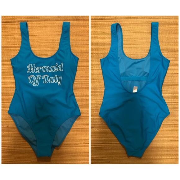 9d60e5b20bc No Boundaries Swim   Mermaid Off Duty Suit   Poshmark